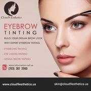 Eyebrow Tinting Services in Fairfax | Facial Spa in Manassas