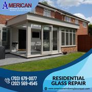 Best Solution for Residential Glass Repair at Alexandria VA